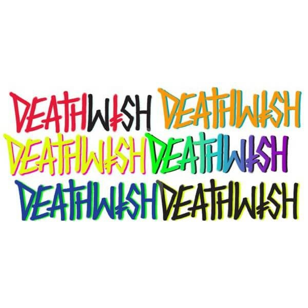 deathwish deathwish deathspray 6.5in sticker