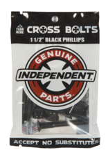 independent independent phillips 1in black hardware