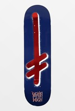 deathwish gang logo navy red 8.5 deck