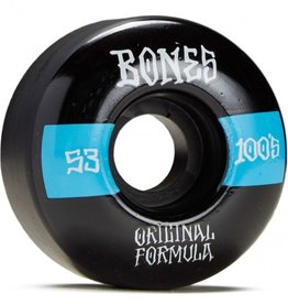 bones 100s v4 wide 53mm black wheels