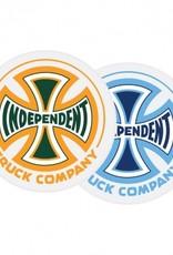 independent spectrum truck co 4in x 4in sticker