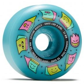 spitfire f4 99 sk8 like girl blue 53mm wheels