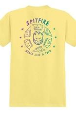 spitfire sk8 like a girl tee