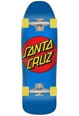 santa cruz classic dot 9.35in x 31.7in blue cruzer complete