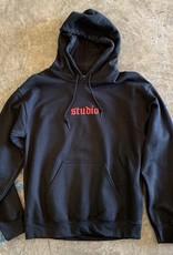 studio skate supply youth studio logo pullover hoodie