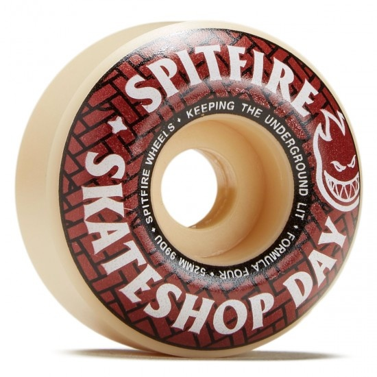 spitfire f4 99 skate shop day classic 54mm wheels