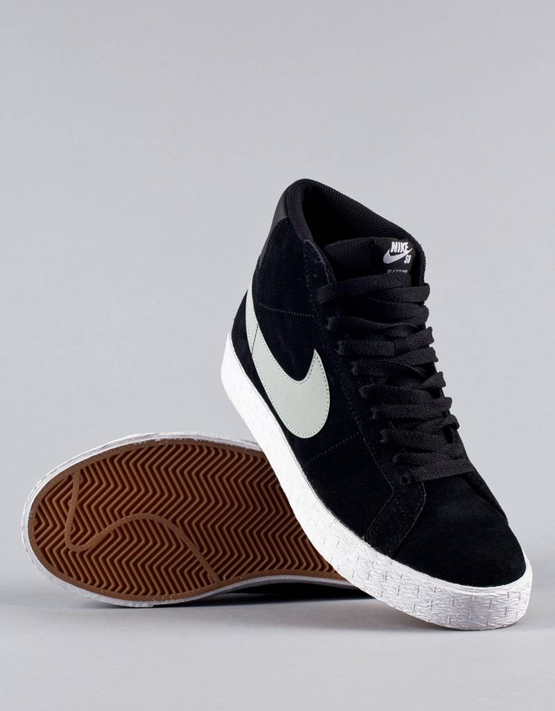 Nike SB - Blazer SB Premium SE Shoe - Base Grey Black White ... 25b714629151