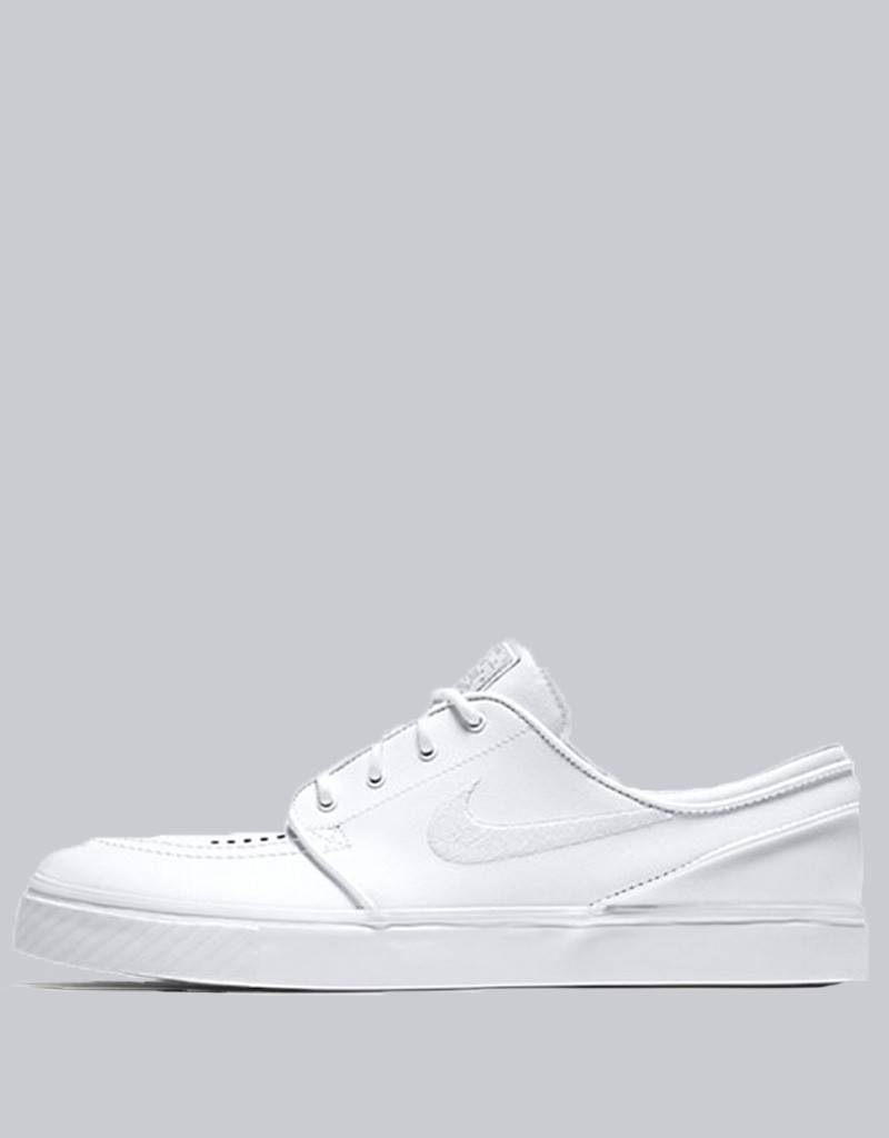 4a6a675174f Nike SB - zoom stefan janoski leather shoe - metallic gold white gum ...