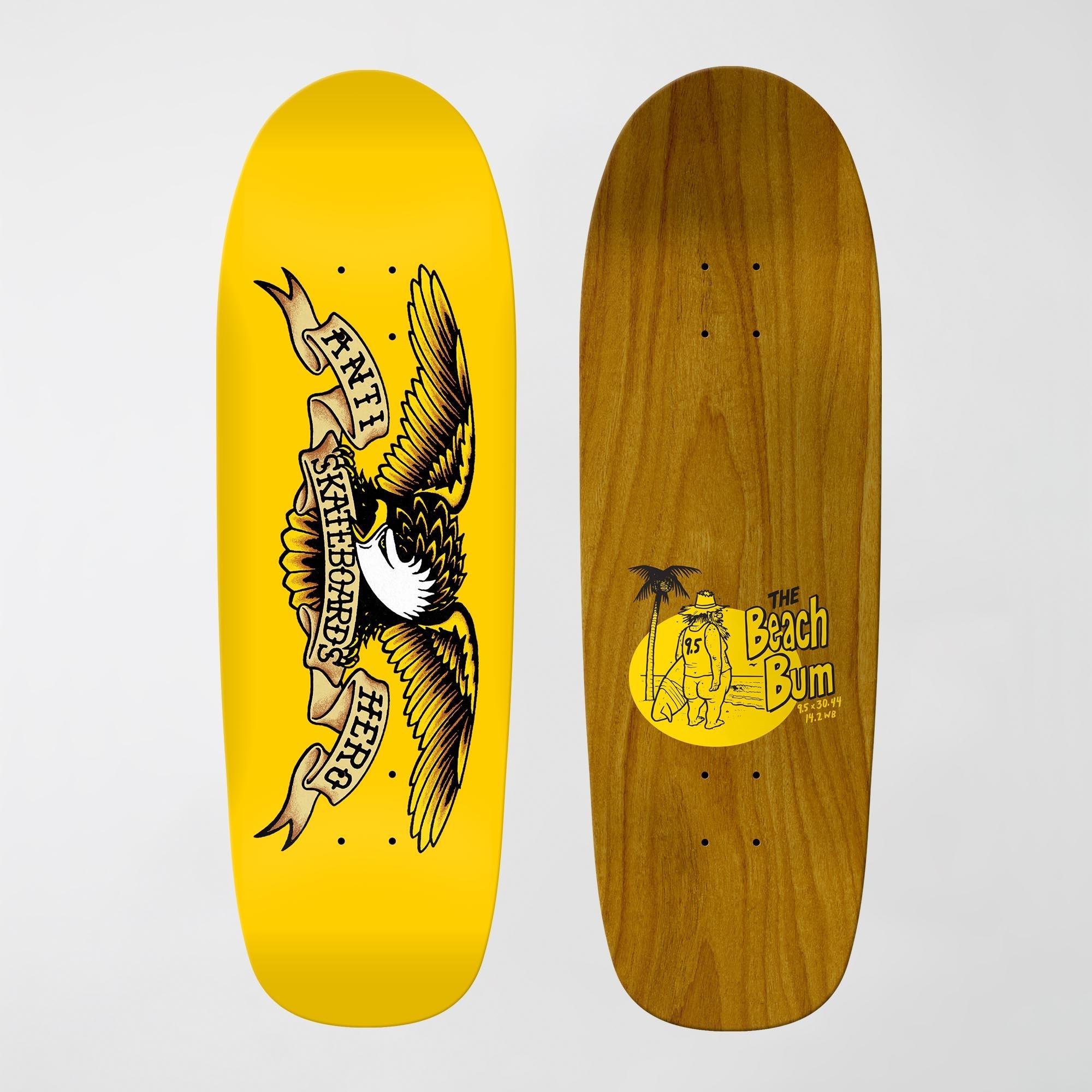 anti-hero shaped eagle beach bum 9.55 deck