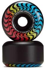 spitfire f4 99 radials trippy  swirl black 52mm wheels