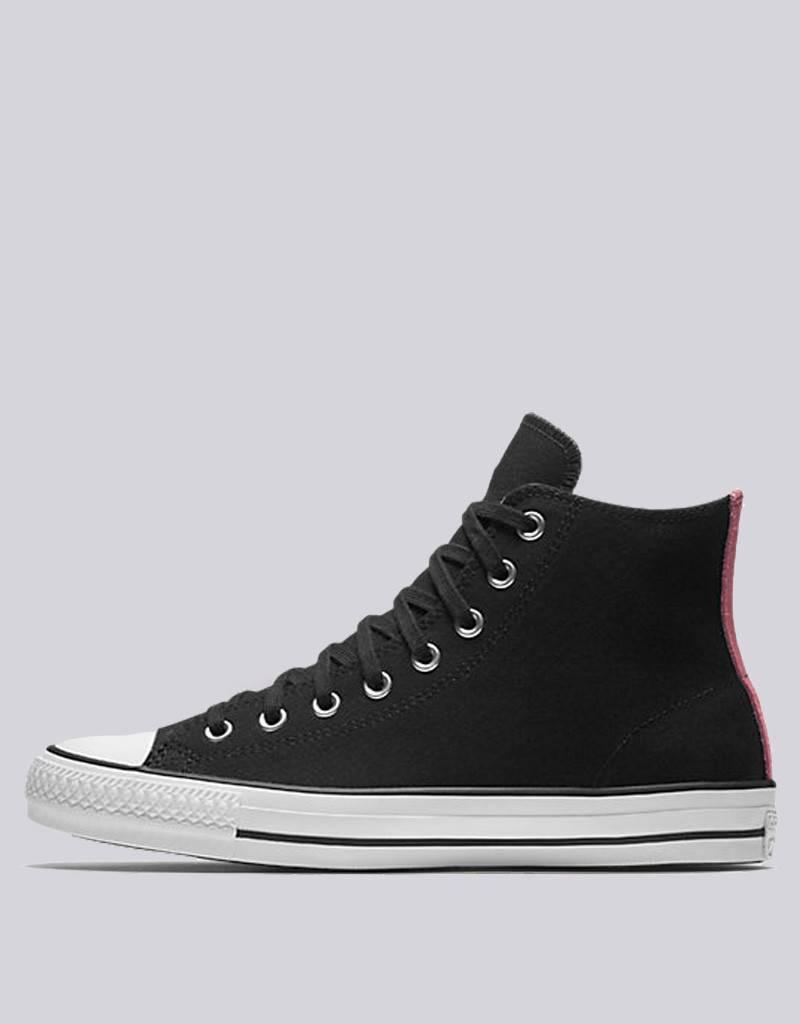 bed0f9debdca CONS - ctas pro hi suede backed shoe - black pink glow - RideFourEver