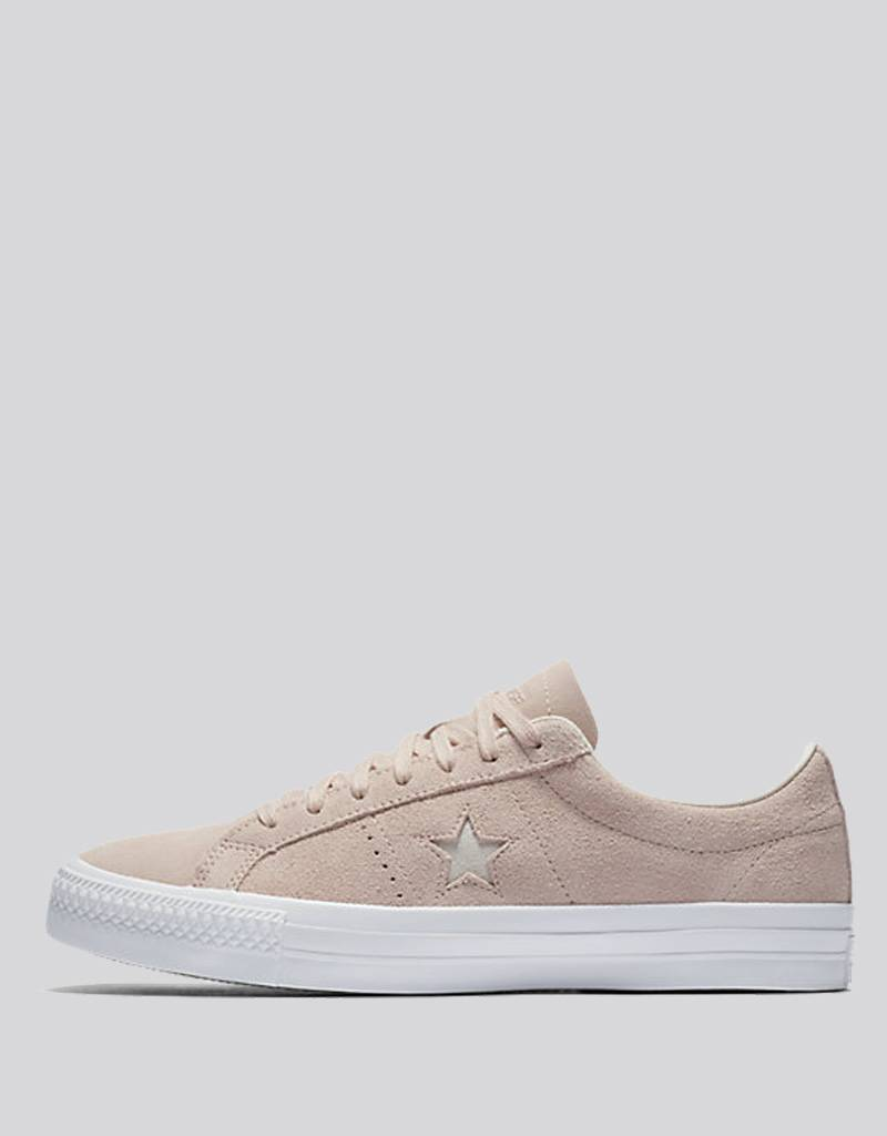 5ee7441bfd69 CONS - one star pro ox shoe - dusk pink white - RideFourEver