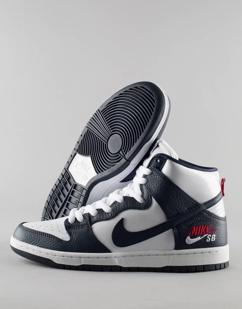 Nike SB - zoom dunk high pro shoe - obsidian white - RideFourEver 31e81c2a9