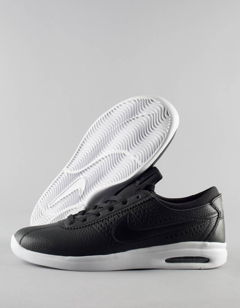 9e1c868fd3f Nike SB - air max bruin vapor leather shoe - black white - RideFourEver
