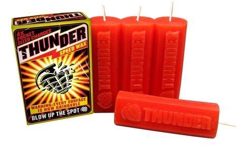 thunder thunder dynamite speed wax