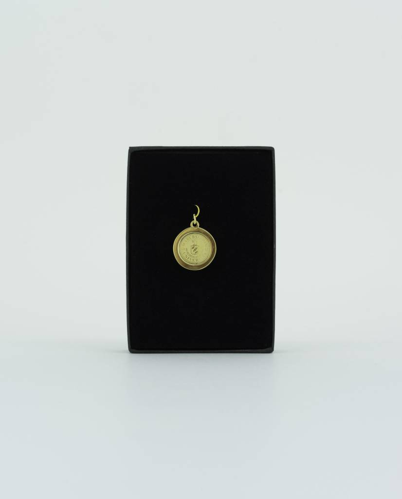 University Charm  (Gold Plated)
