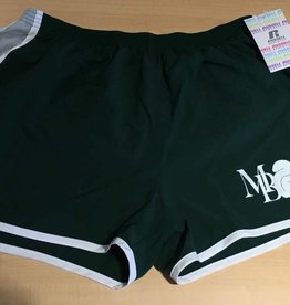 """Russell Athletic Womens 3"""" inseam Short w/Squirrel and MB"""
