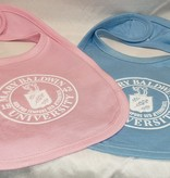 Local Baby Bib w/ University Seal