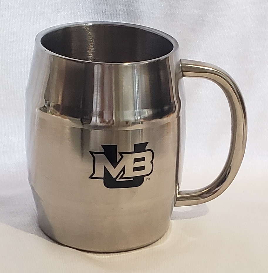 Spirit Products Stainless Steel Barrel Mug