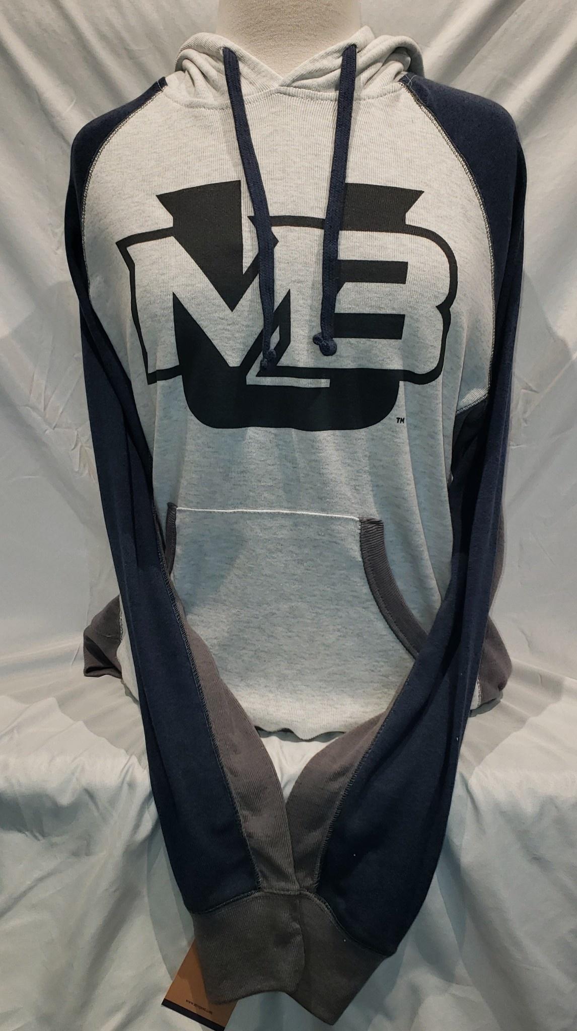 MV MV Peppered Fleece Hoodie with MBU