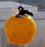 Local Mary Baldwin Apple Glass-blown Ornament