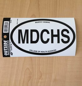 Spirit Products MD MDCHS Bumper Decal