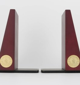 Bookends w/ Rosewood Finish