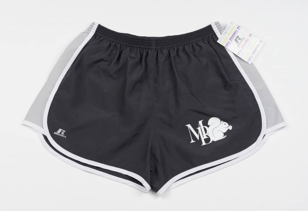 "Russell Athletic Womens 3"" inseam Short w/Squirrel and MB"