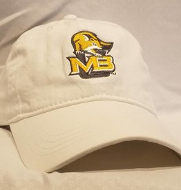 MV Fighting Squirrel Baseball Cap (White)
