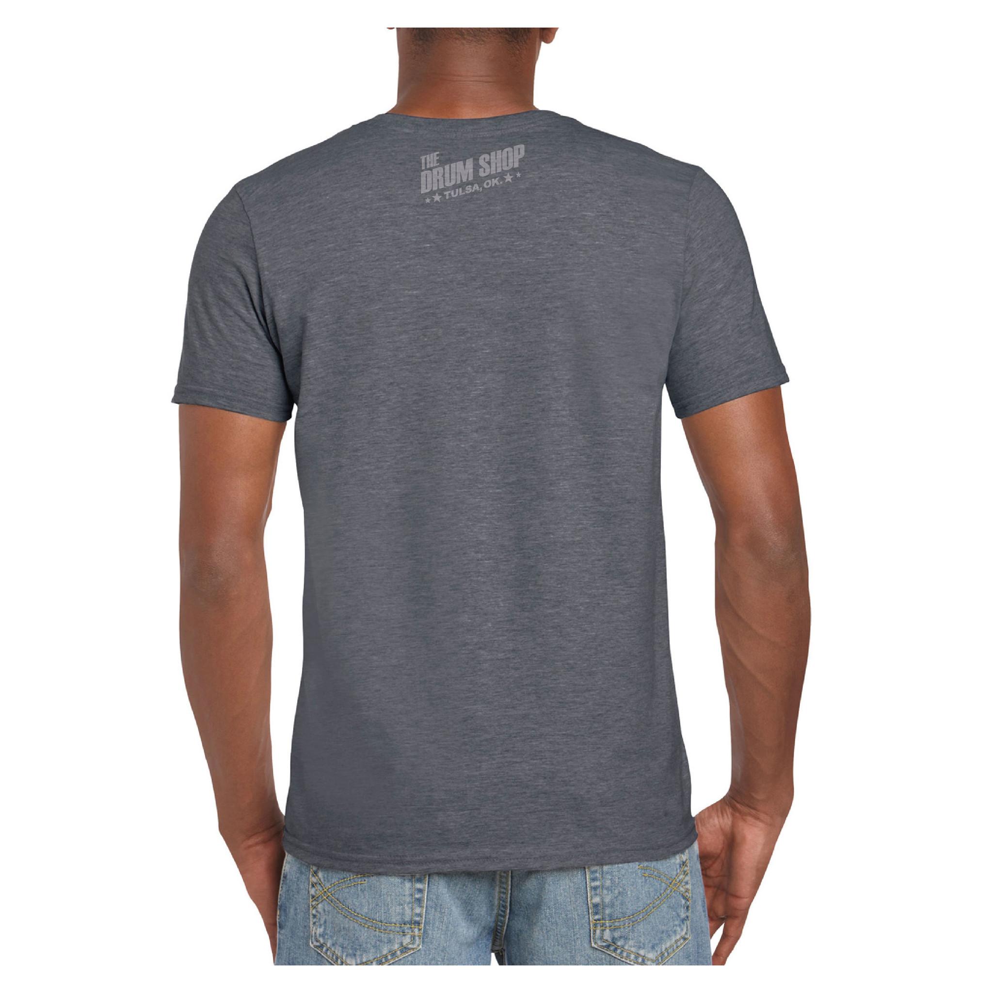 "The Drum Shop The Drum Shop ""Limited"" T-Shirt - Sleep Eat Drum - Grey"