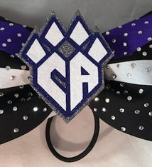COLUMBUS Titancats Competition Hair Bow 2016-17