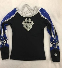 All Star Prep: PLANO BlueKatz Uniform Top 2016-17