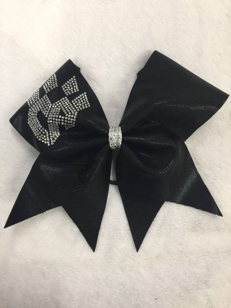 All Star Prep: CHARLOTTE BlacKatz Uniform Bow 2016-17