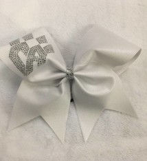 All Star Prep: FRISCO WhiteKatz Uniform Bow 2016-17