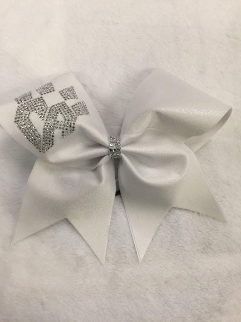 All Star Prep: FRISCO WhiteKatz Uniform Bow 2016-17