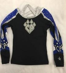 All Star Prep: FRISCO WhiteKatz Uniform Top 2016-17