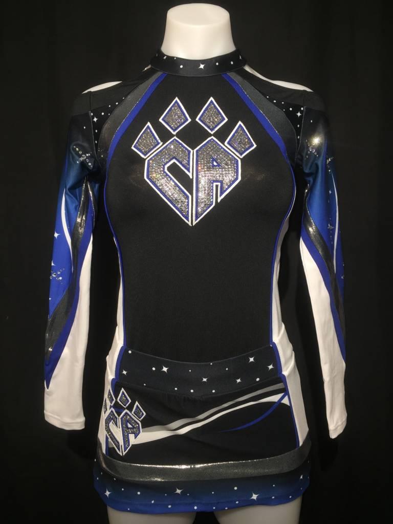 FRISCO Meteorites Uniform Skort 2016-17