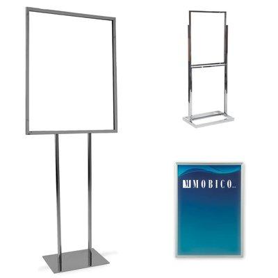 Porte-affiche de plancher