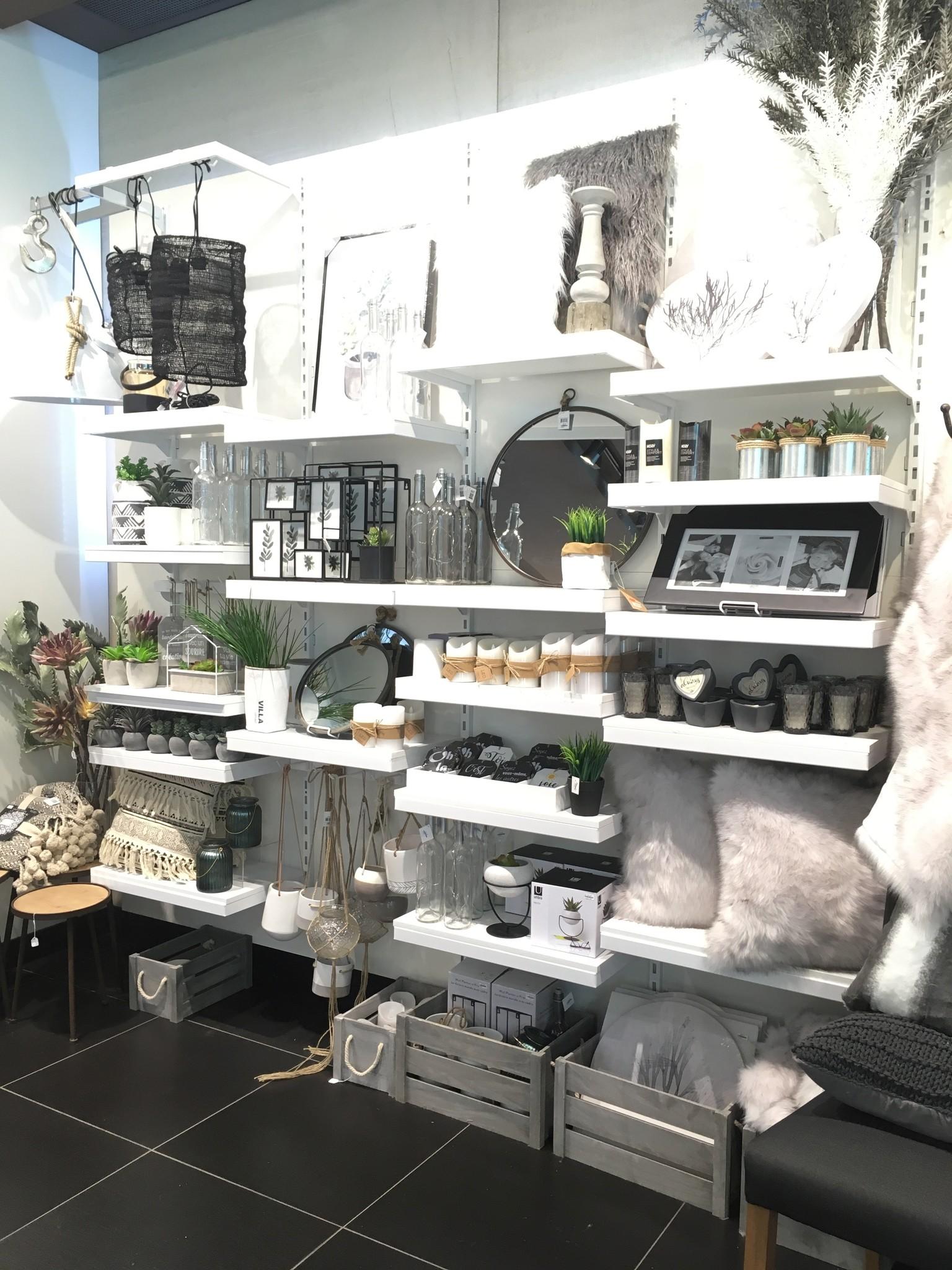 Boutique cadeaux et d'accessoires