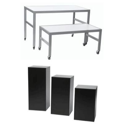 Tables et Podiums