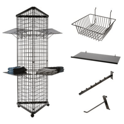 Grid, slatgrid & accessories