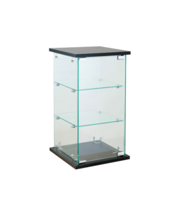 Economic glass countertop mini tower