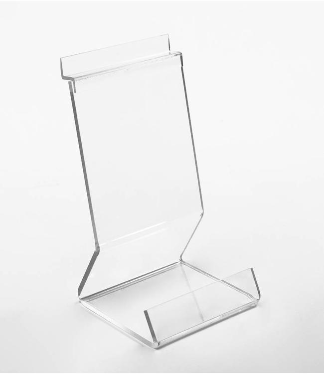 Stand 2''W x 4''D x 7''H, acrylic