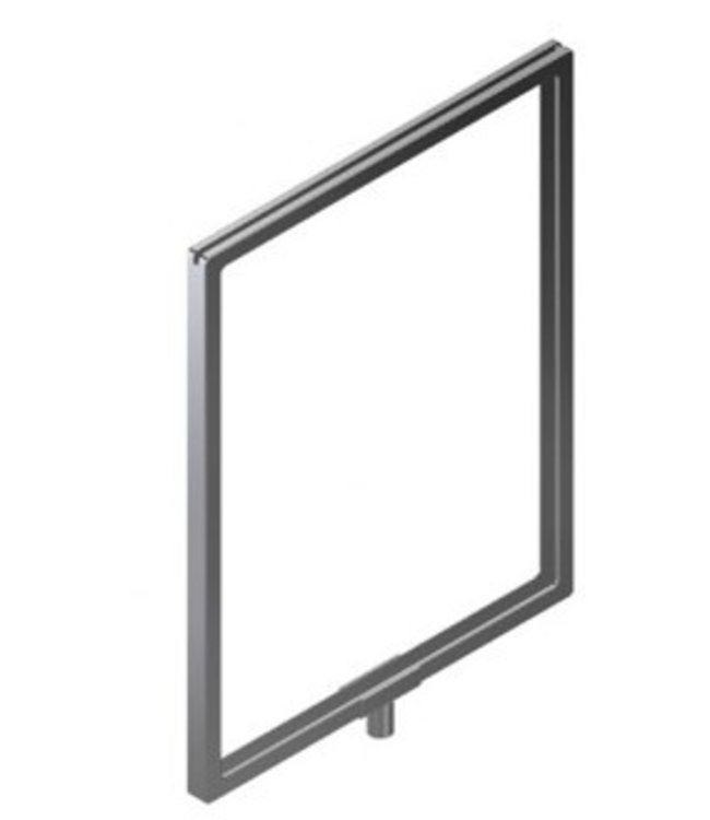 "CARDFRAME 11″ L X 7″ W W/FITTINGS FOR 1/4"" OR 3/8"" STEAM"