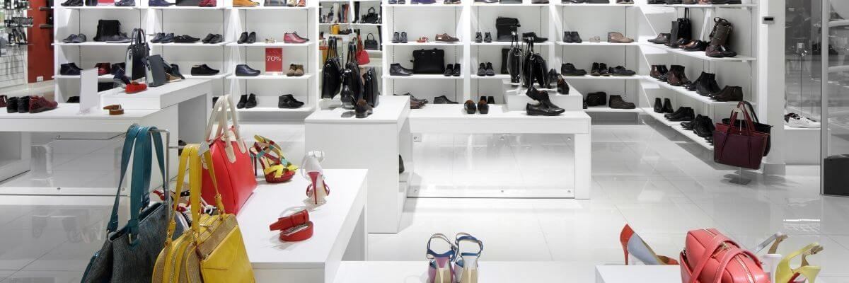 Image de magasin de souliers