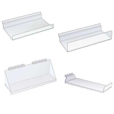 Tablettes en acrylique