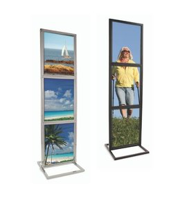 "Triple Bulletin Sign Holder 22"" x 28"""