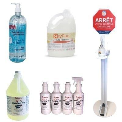 Antibacterial gel and virucidal disinfectant