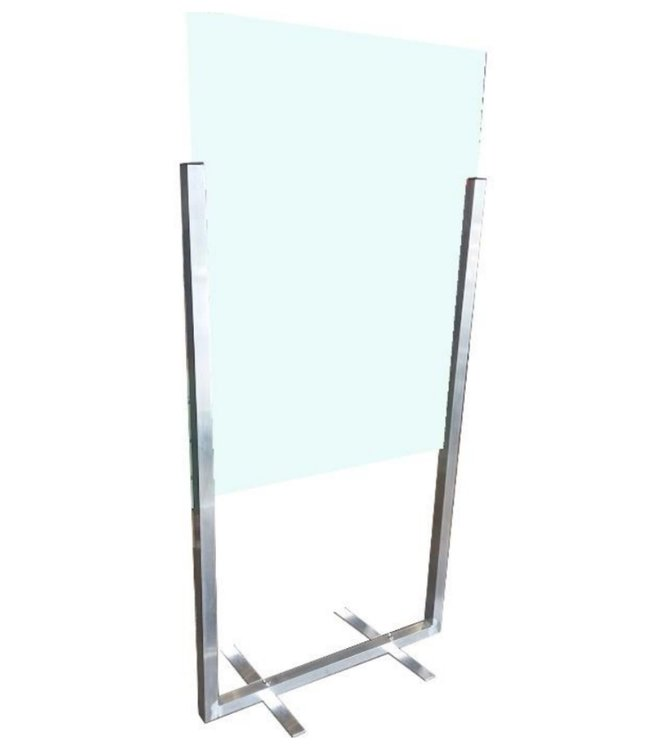 free standing acrylic division wall