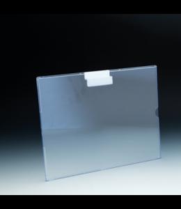 """Porte-affiche 11"""" x 8-1/2""""H pour slatwall, acrylique"""